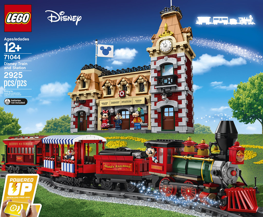 LEGO Disney 71044 Disney Train and Station review | Brickset
