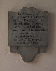 in her 113th year