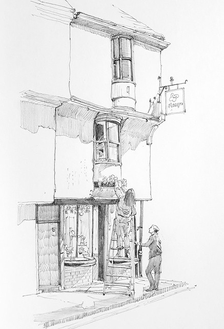 Number 60 Low Petergate, York (#DrawingAugust, day 10)