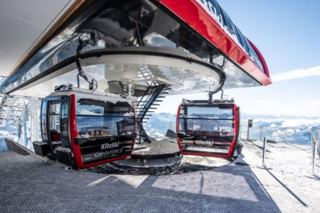 Kitzbühel: staví se nejrychlejší kabinka Rakouska