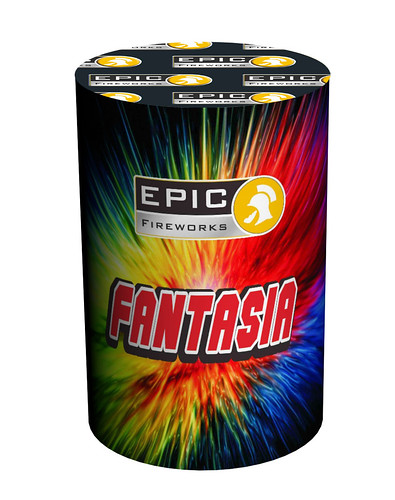 Fantasia Mine Fountain Combination #EpicFireworks
