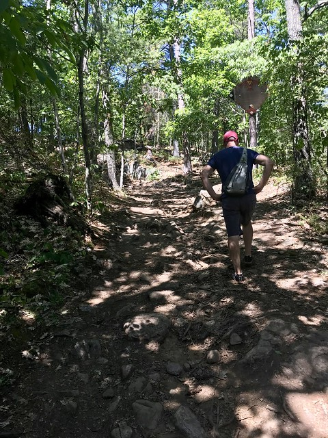 Eagle's Nest trail terrain