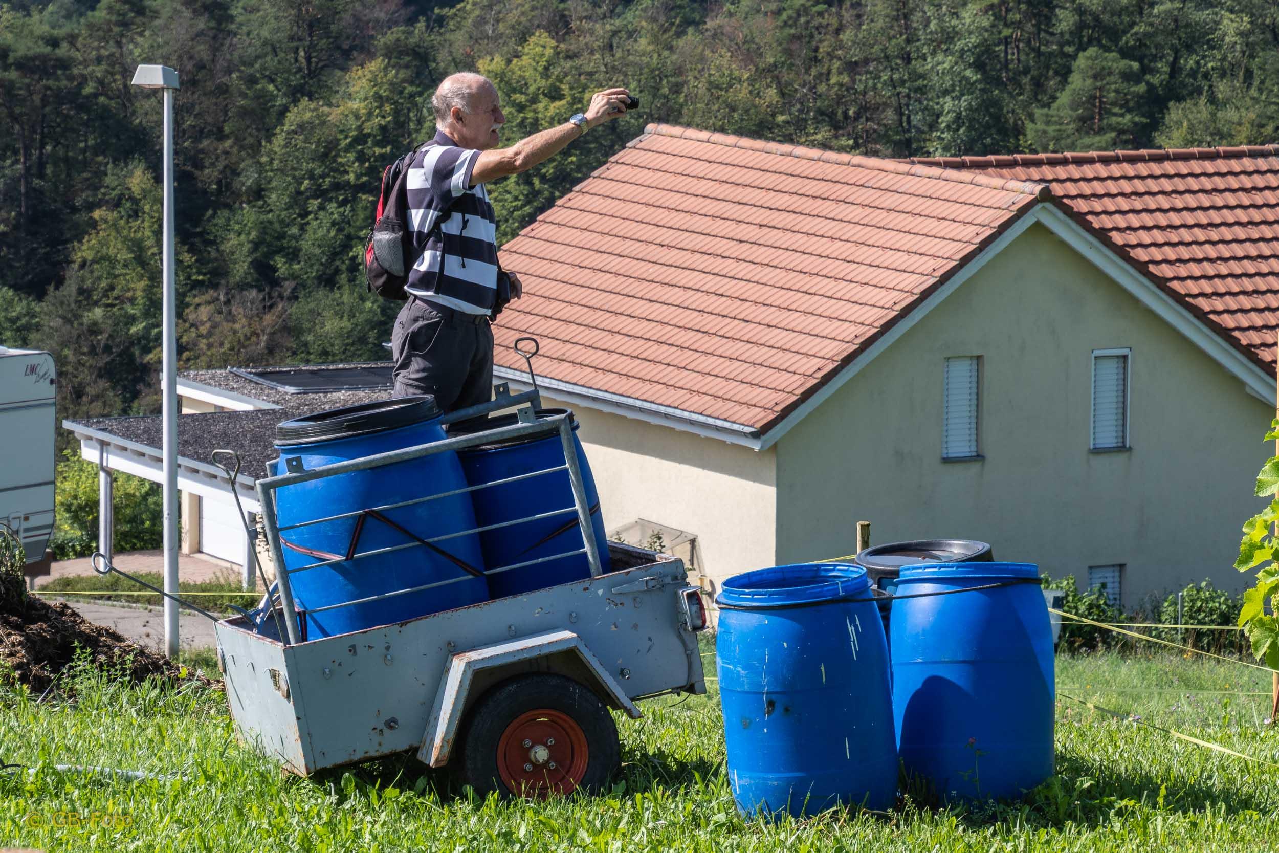 Seniorenwanderung Liesberg - Kleinlützel 08.08.2019