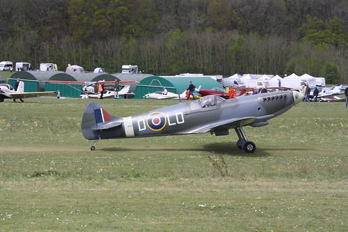 G-CJWW Supermarine Aircraft Spitfire MK26 [LAA 324-14063] Popham 050519