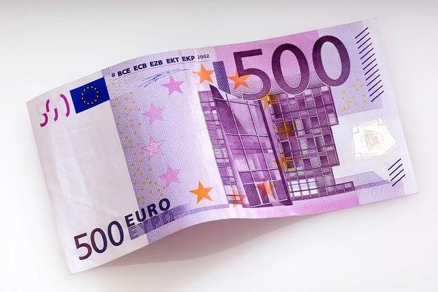 500 Euro note Bin Laden