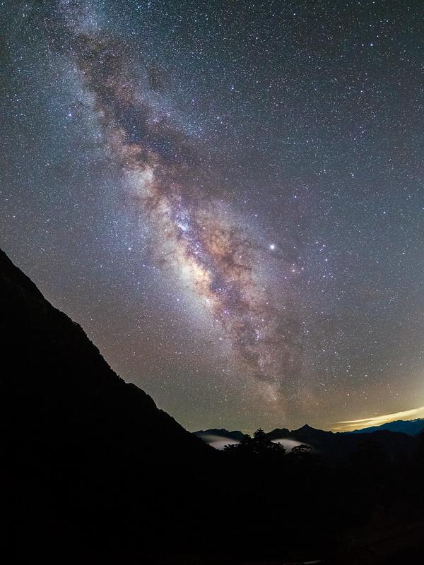 The Milky way 天池山莊