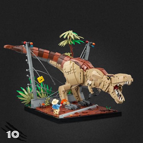 10 - T.rex Breakout