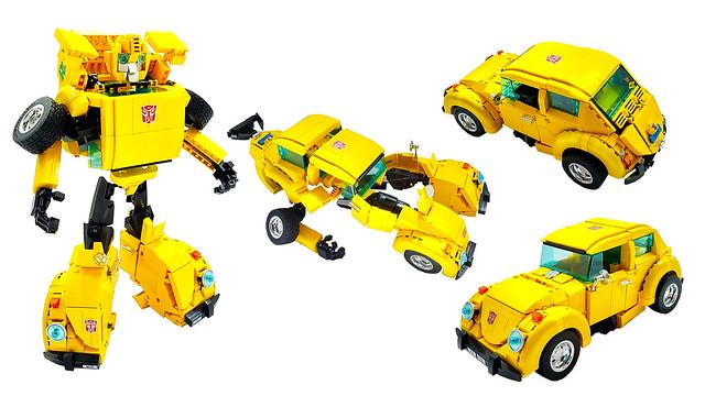 LEGO 10252 Beetle BUMBLEBEE