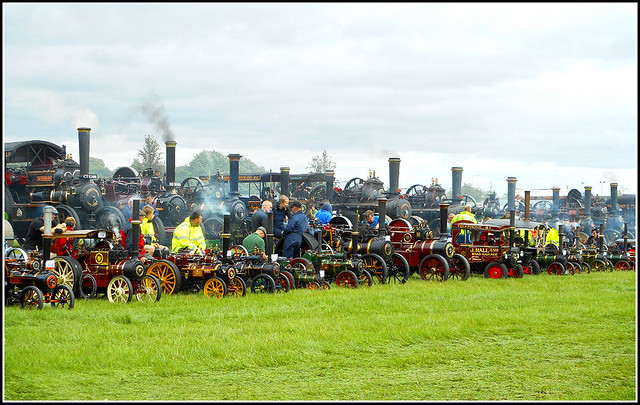 Grand Line-up of Steam ..