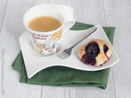 Eccles Cakes mit Johannisbeeren (1)