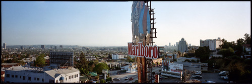 chateaumarmont sunsetblvd losangeles usa fuji g617 panoramic kodak film 120 mediumformat analogue