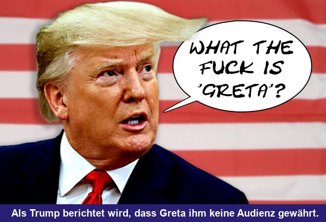 Trump versus Greta