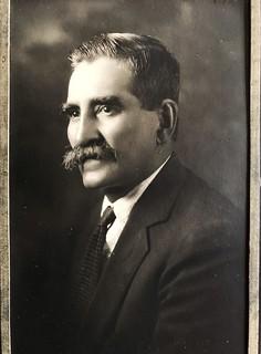 Joseph Bernard, my great grandfather, from Aix les Bains, France.