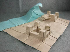 Sandcastle 2 (with wave)