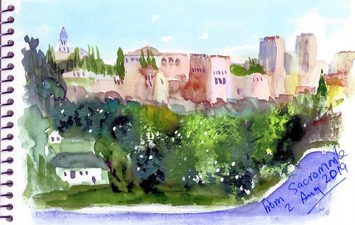 The Alhambra for Sacromonte