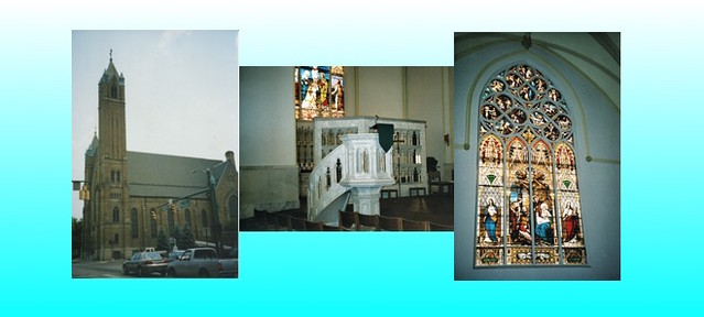 South Bend Indiana  -   St. Adalbert Church - Catholic