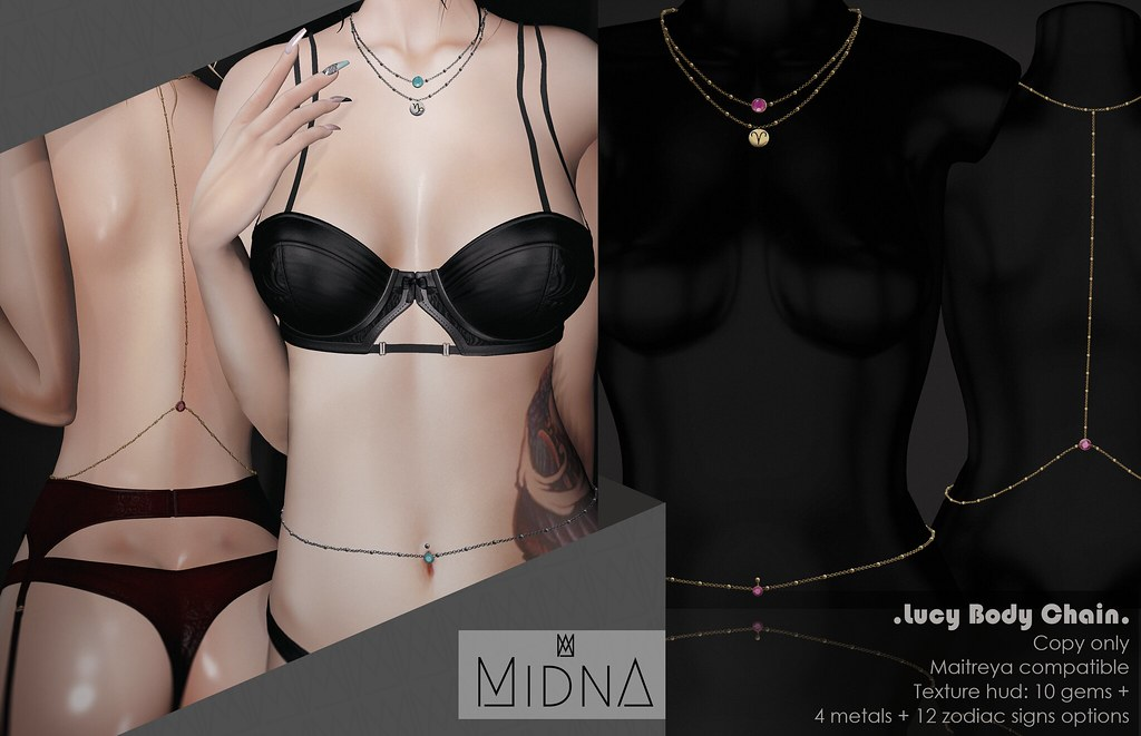 Midna – Lucy Body Chain