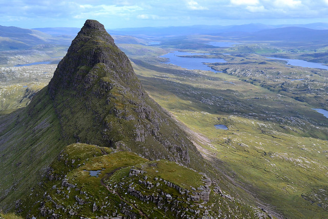 East Top of Suilven