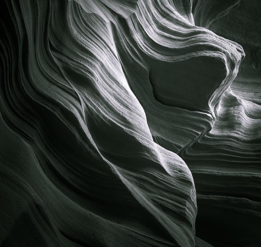 Sandstone Point - Toned B&W