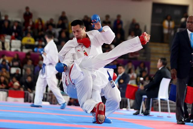 Allan Maldonado, medalla de bronce karate do, Lima 2019
