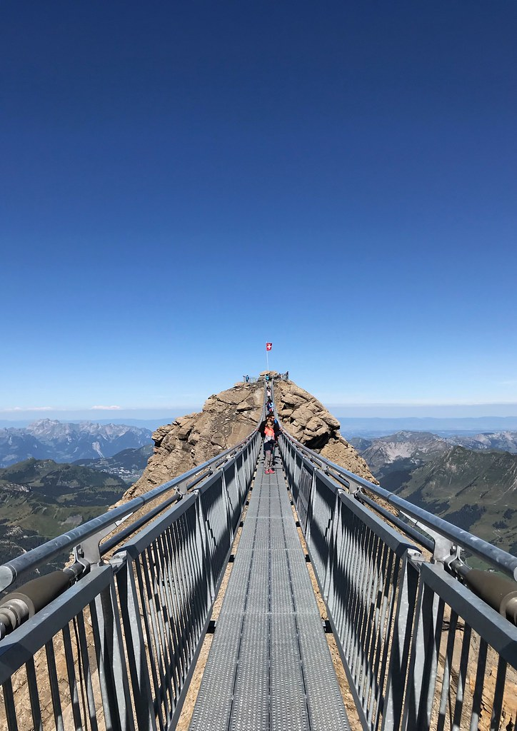 Peak Walk by Tissot - Suspension Bridge Between Two Peaks