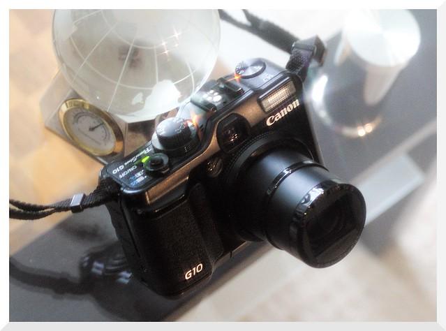 Digital Bridge: Canon PowerShot 28-140mm (equiv.) 1:2.8-4.5 G10 (2008) - Image by Sony A77 II with Hoya Cross Screen Filter