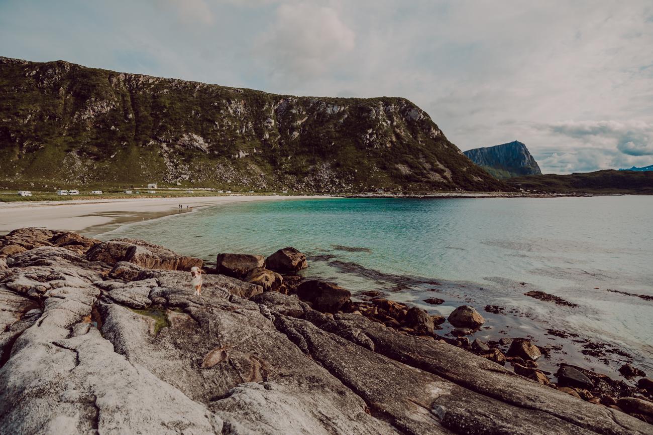 haukland beach lofootit-6