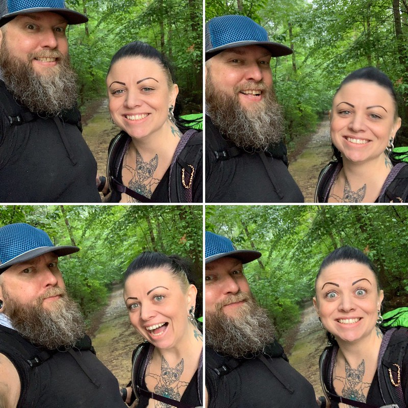 Trailhead selfies!