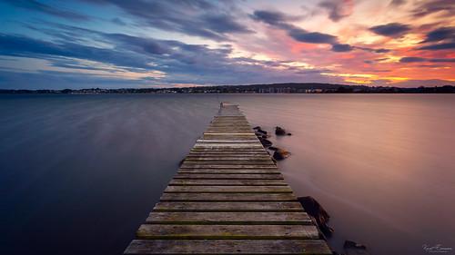 norway longexposure sea landscape le pier leefilter tønsberg sky seascape nature weather vestfold shore