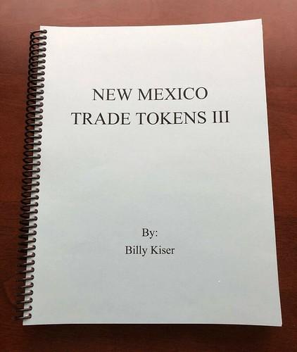 New Mexico Trade Tokens III book cover