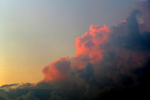 sunrise clouds naples florida fl