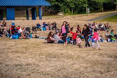 Cine en el Parque at Dick Thurnau Memorial Park