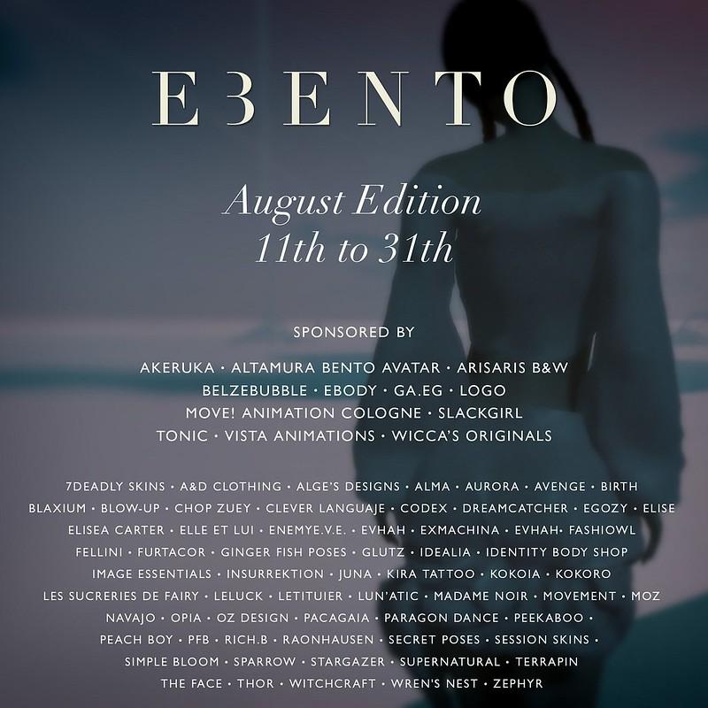 eBento - August