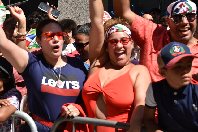 Picture Taken From The  Dominican Day Parade On 6th Avenue In New York City. Photo Taken Sunday August 11, 2019