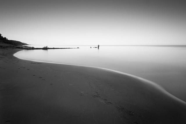 Pere Marquette Beach at Sunrise