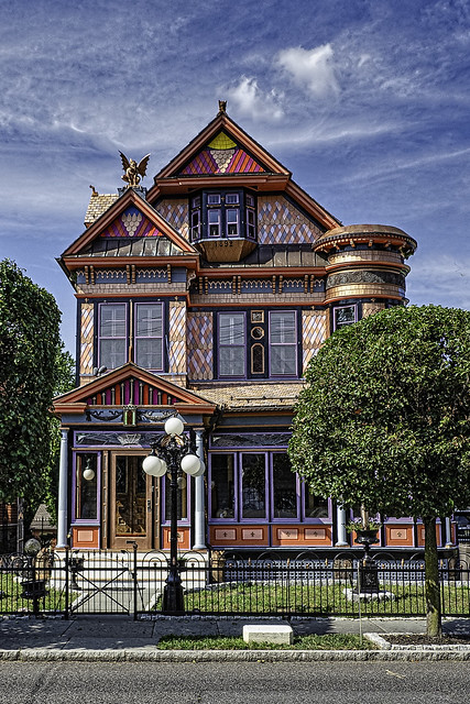 Painted Hightstown House