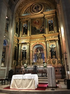 Lisbon, Portugal - Church of Sao Roque (1567-c. 1600), main altar