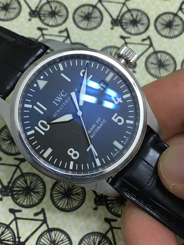 IWC Mark XVI dial 3