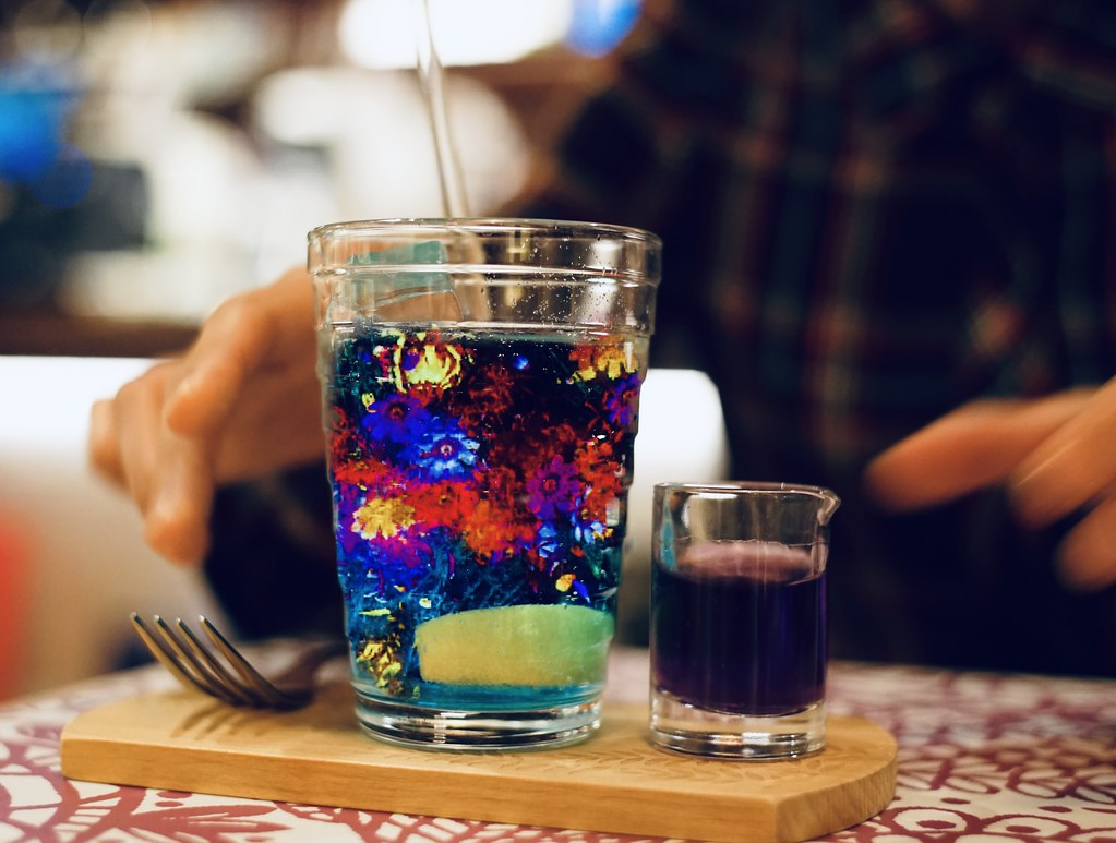 Enlight Photofox_Flower drink