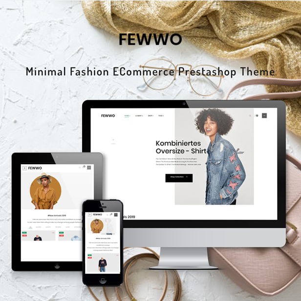 Ap Fewwo - Minimal Fashion ECommerce Prestashop Theme