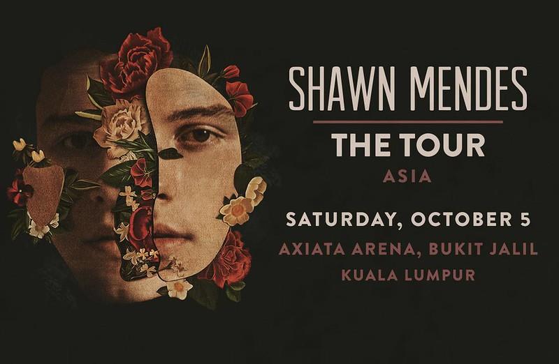 Konsert Shawn Mendes The Tour 2019