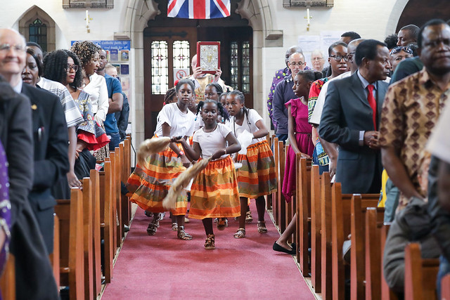 Multicultural Mass on African Day