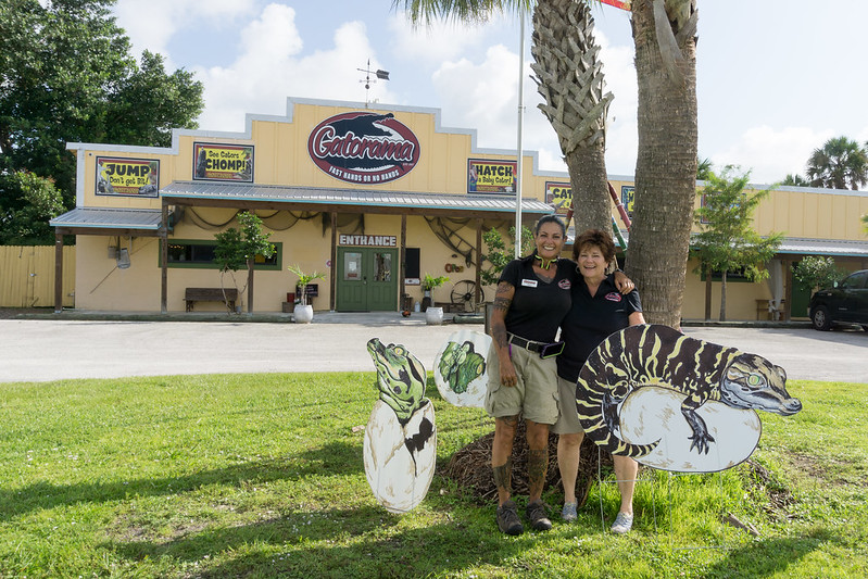 Gatorama is One of Florida's Oldest Roadside Attractions, Palmdale, Fla., Aug. 10, 2019
