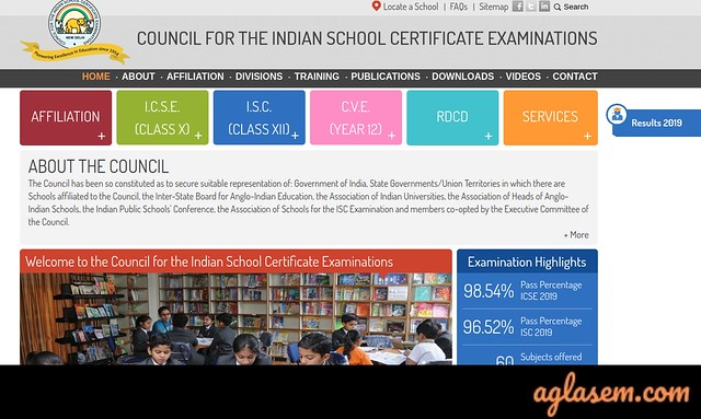ISC Class 11 Result 2020