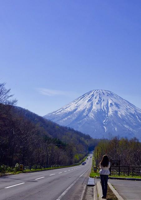 羊蹄山(蝦夷富士)を後にして!!! Leave Mt. Yotei (Ezo Fuji)