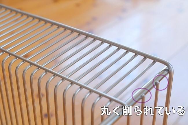 日本製でていねいな作りの水切りカゴ