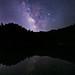 Alpine Lake Milky Way
