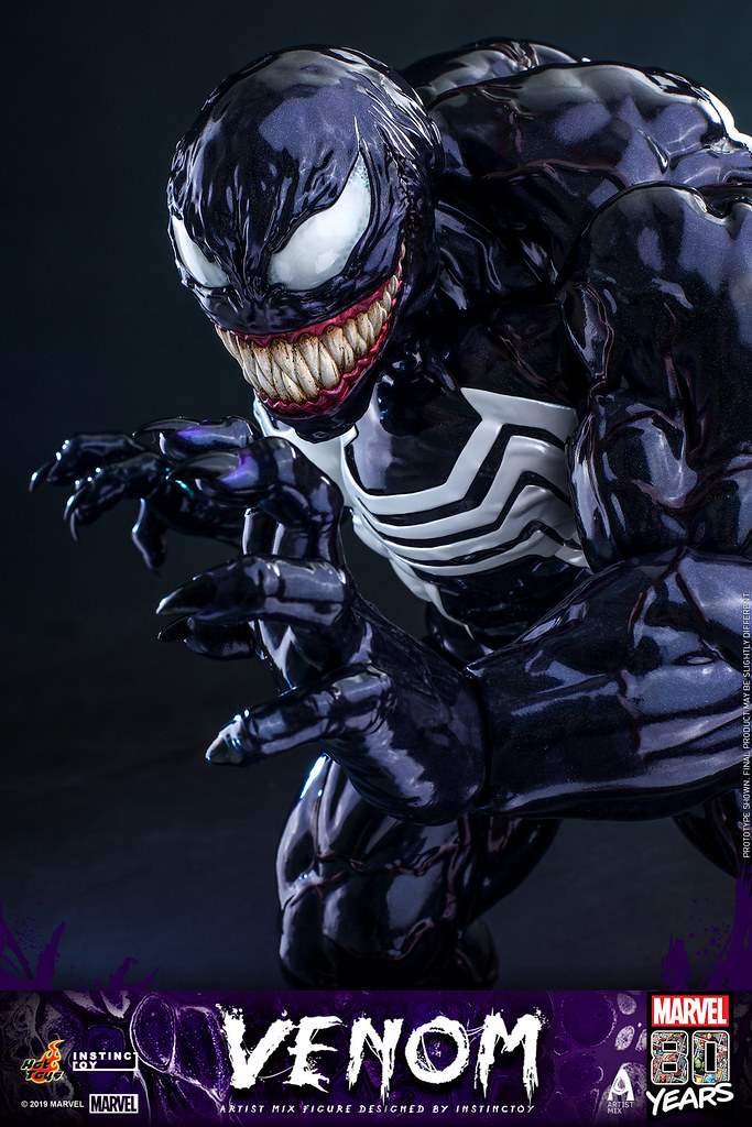 Hot Toys - AMC031 - Marvel Comics【猛毒】Venom Artist Mix Figure Designed by INSTINCTOY