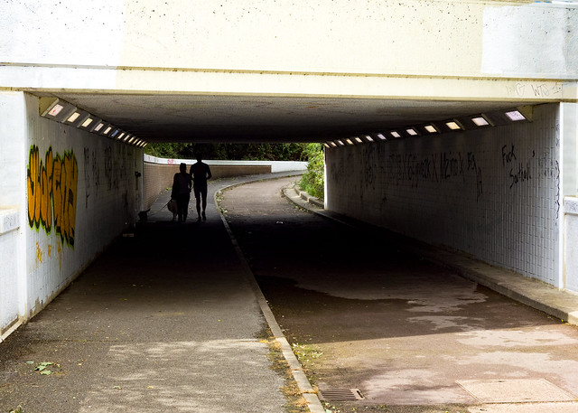 Underpass Under Hayes Bypass, Minet Country Park