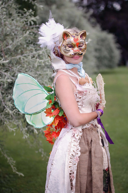 Portrait from Fantasy Forest at Sudeley Castle, July 2019